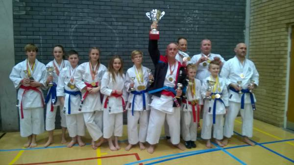 Mushindo Kata Competition 8th March 2015